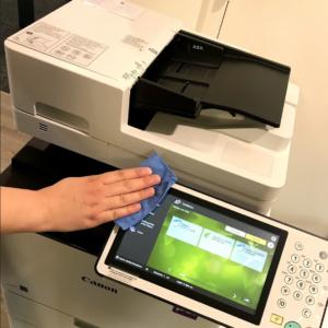 Printer kantoor schoonmaakbedrijven schoon